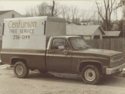 early tree service truck