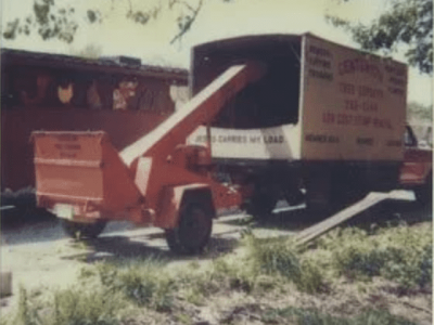 early chipper equipment for tree service